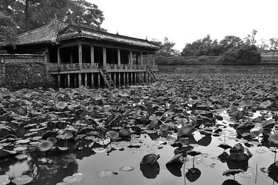 Part of the temple complex in Hue