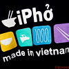 iPho or is it iPhone?   A play on words.  Pho is the national dish of Vietnam