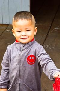 Boy in the fishing village