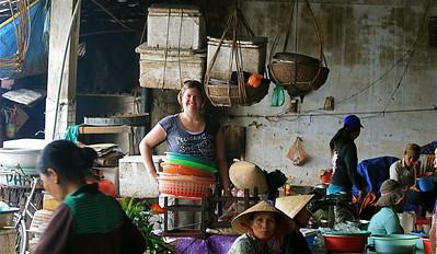 Op de markt van Hoi An. Hoi An, Vietnam.