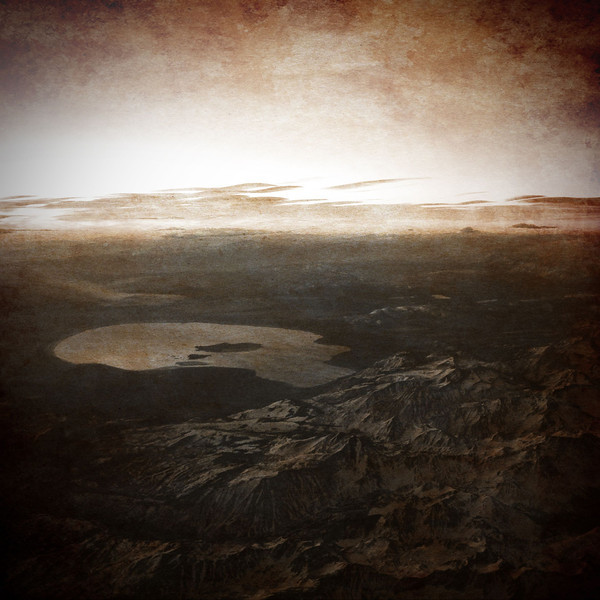 Sunrise reflecting off Mono Lake
