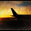 767 catching the sunrise at SFO