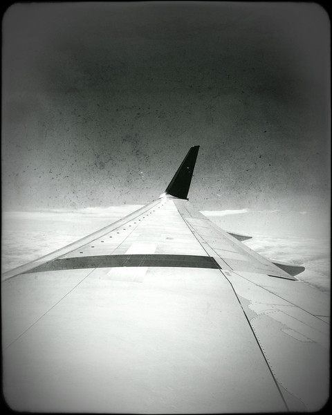 Wing with a view - SFO-JFK
