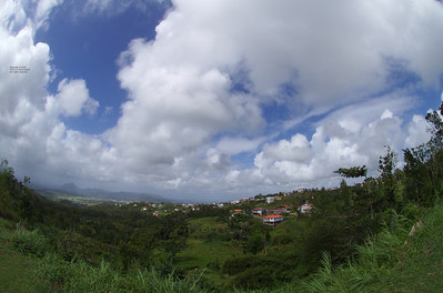 View from a Mountain, Martinique 2008