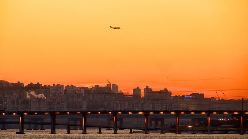 Sunset, Hangang River
