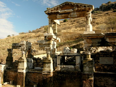 The Fountain of Trajan - Ephesus