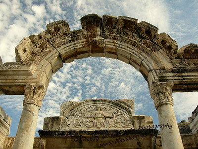 The Temple of Hadrian - Ephesus