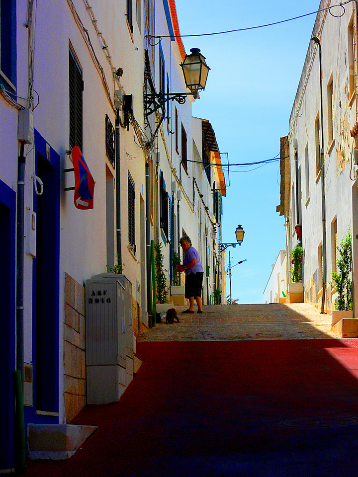 Albufeira Street, Portugal