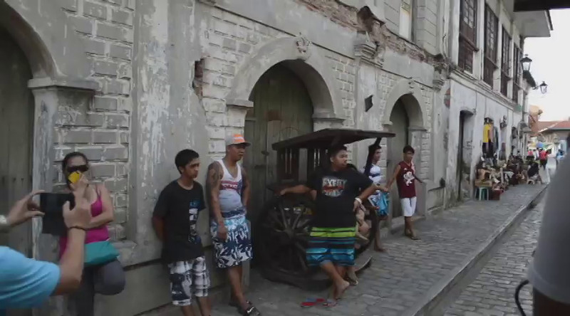 A ride aboard the Kalesa in the historic old town of Vigan, Ilocos Sur, Philippines.