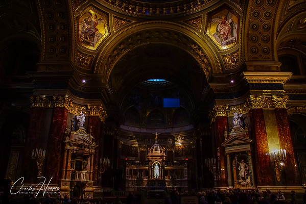 St. Stephen's Basilica  Budapest, Hungary