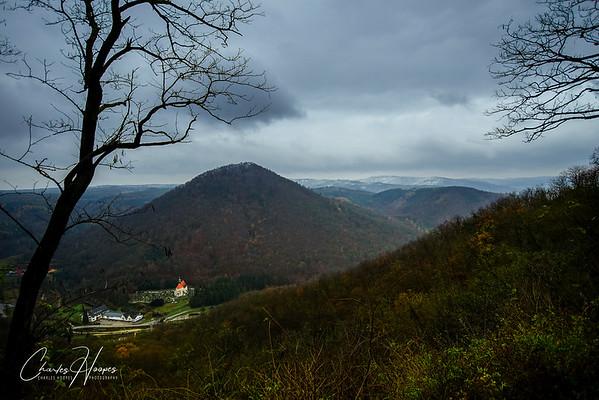 Valley in Krems, Austria