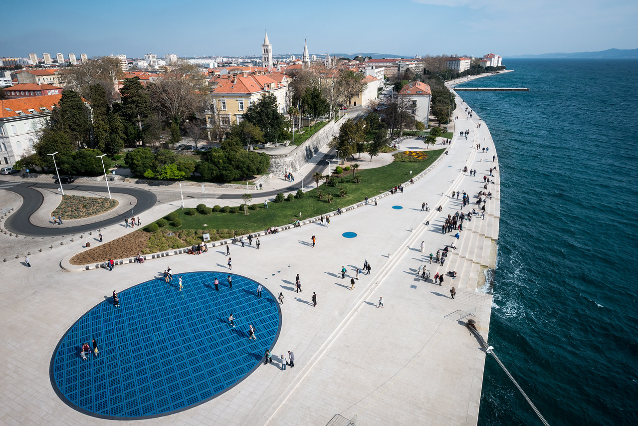 Zadar Solar Disk and Sea Organ