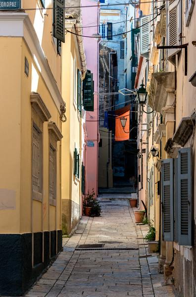 Corfu Alleyway