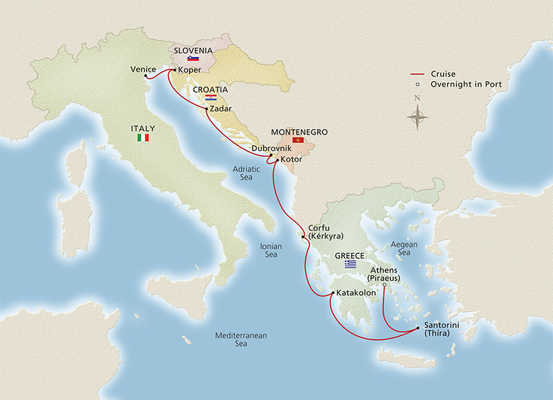 Viking Empires of the Mediterranean Cruise 2017