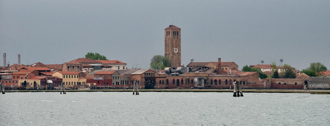 Murano in the Rain