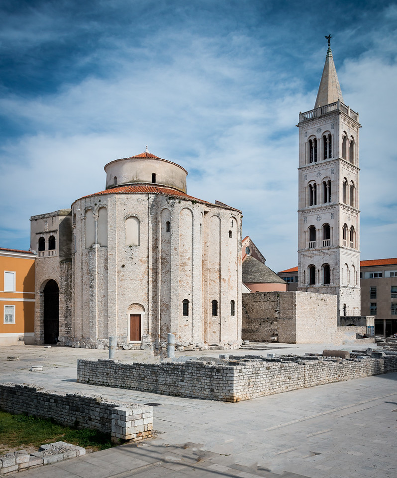 Medieval Round Church, Zadar, Croatia