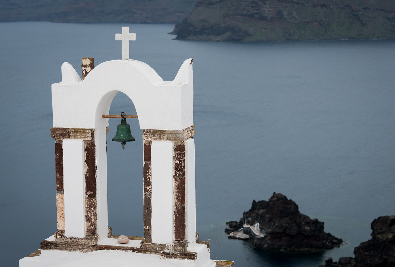 Santorini Church Bell