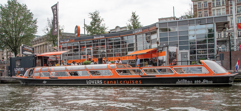 Canal Boat Ride In Amsterdam