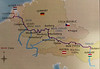 Map Of Our Viking Cruise