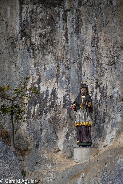 Statue of a Bishop, Danube Gorge