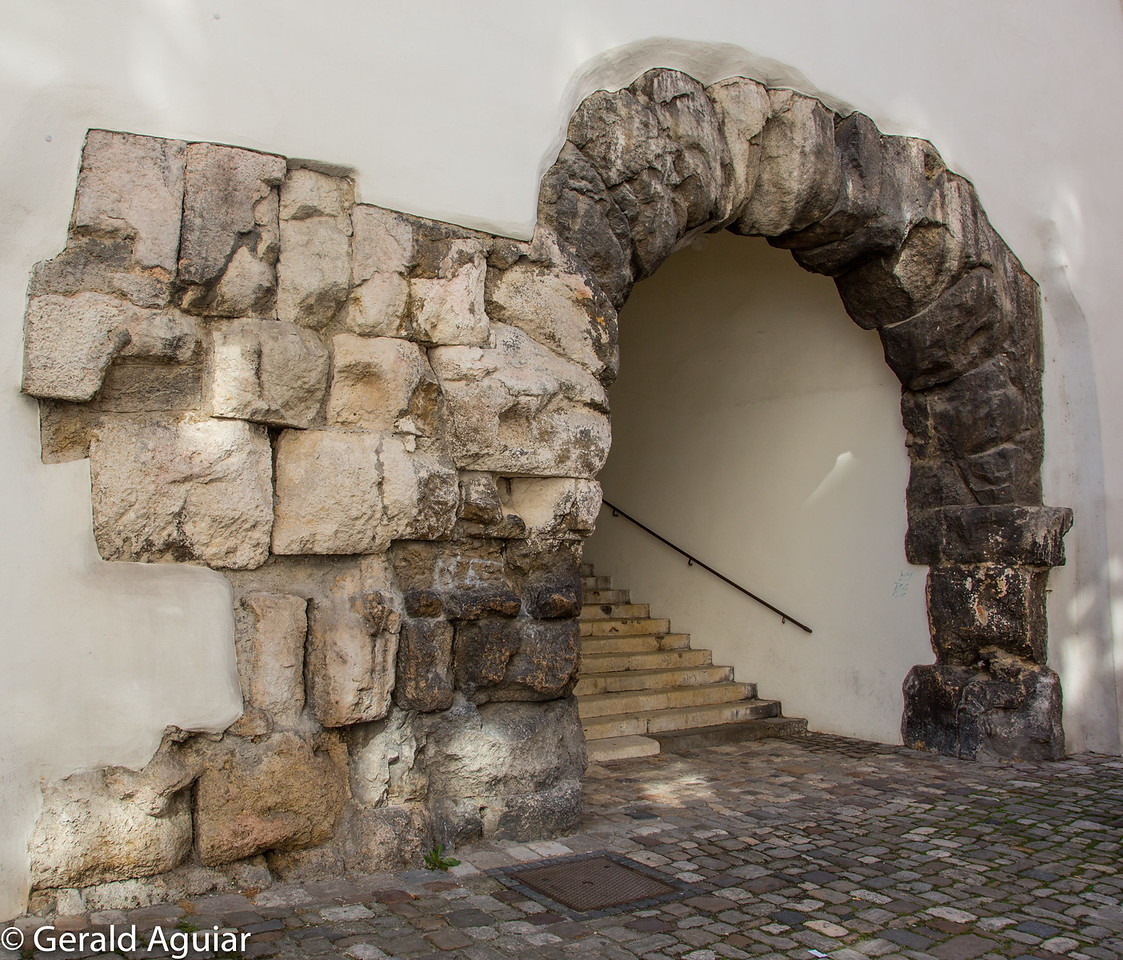 Roman Arch in Regensburg