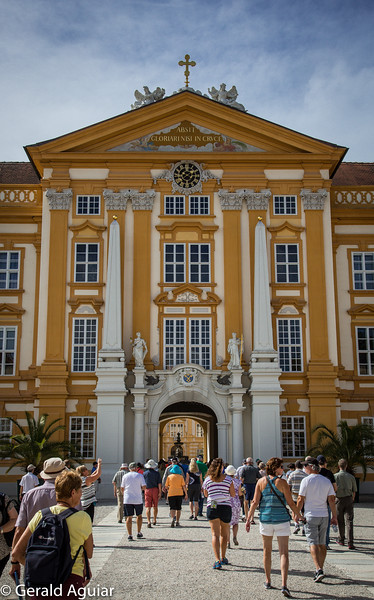 Melk Abbey Entrance