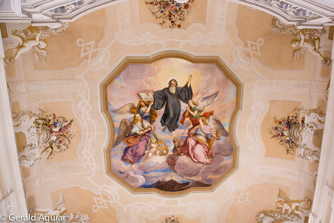 Mural in Melk Abbey
