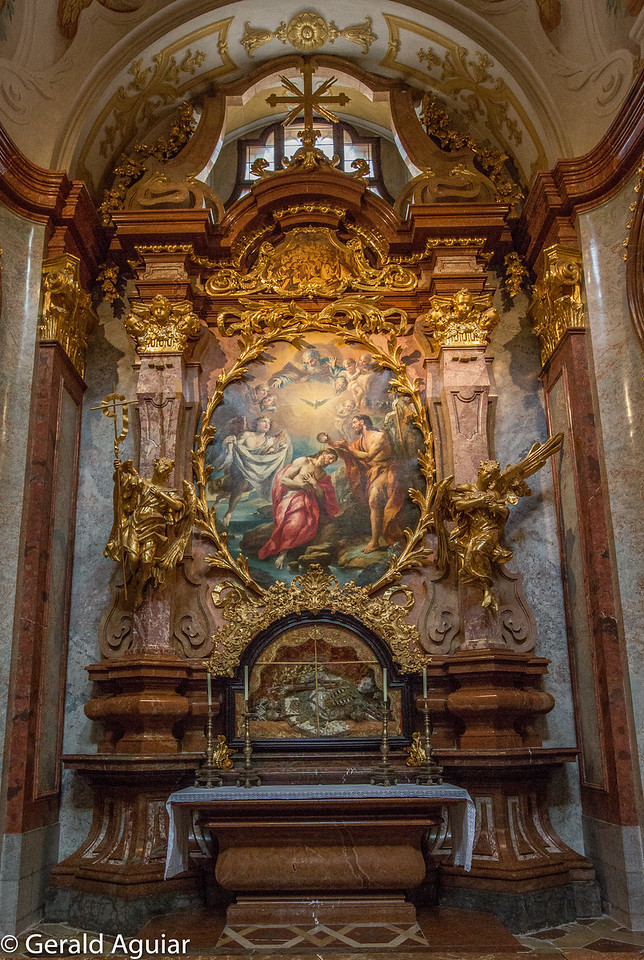 John the Baptist Altar - Melk Abbey
