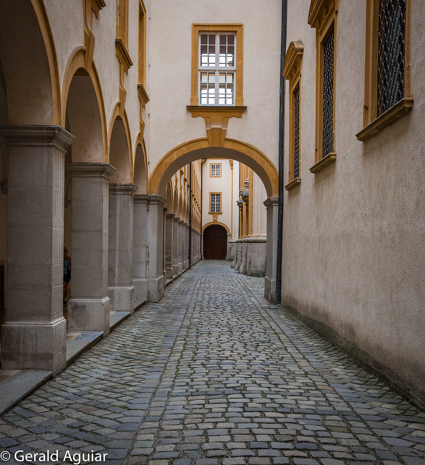 Melk Abbey Cobblestone Alley