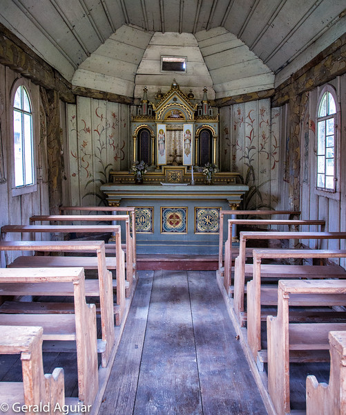 Typical Bavarian Forest Chapel