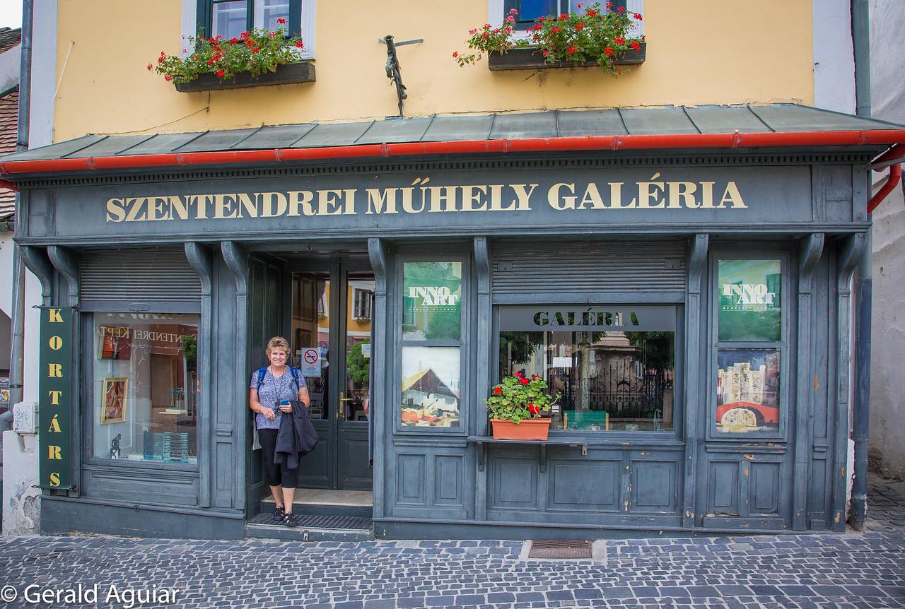 Storefront in Sventendre