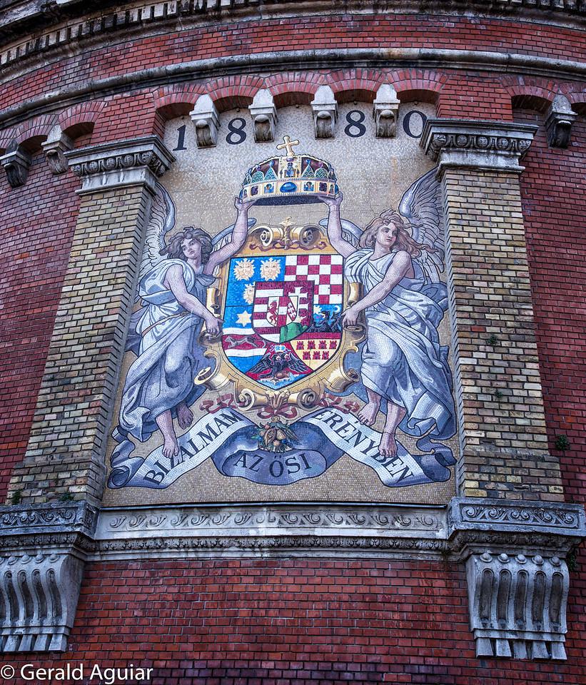 Mosaic Tile - Wall Near Funicular Railway