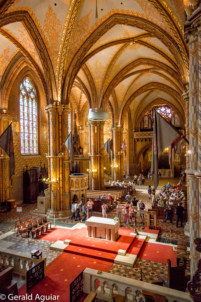 Matthias Church Interior