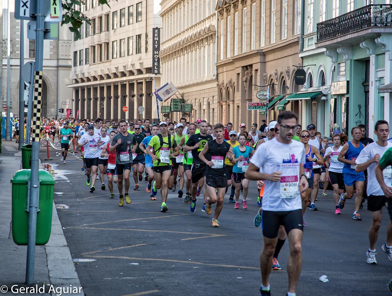 Half Marathon - Downtown Budapest