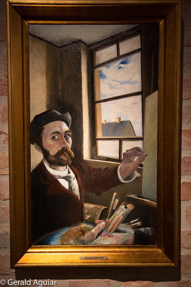 Self Portrait - Tivadar Kosztka Csontvary
