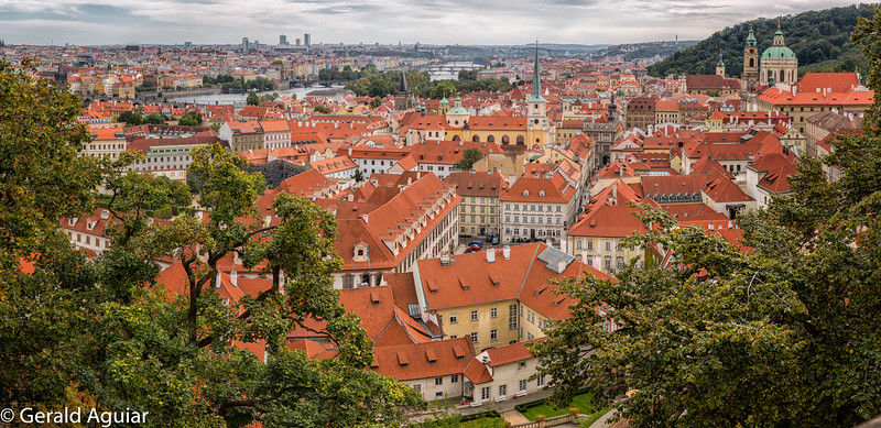 View of Prague from the Lobkowicz Palace
