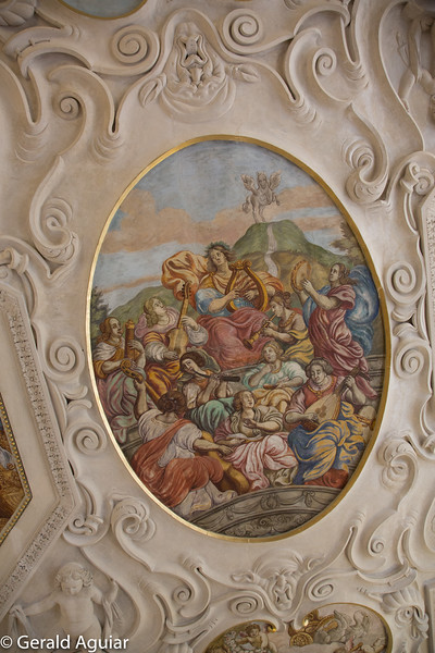 Ceiling Mural in Lobkowicz Palace
