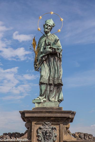 Statue of John of Nepomuk - Charles Bridge