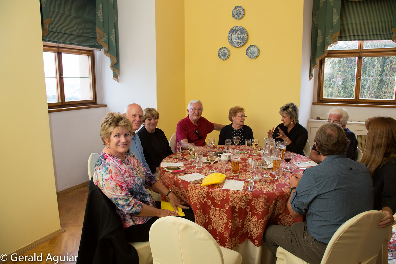 Lunch at the Lobkowicz Palace