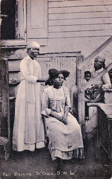 Hair Dressing St Croix 1896