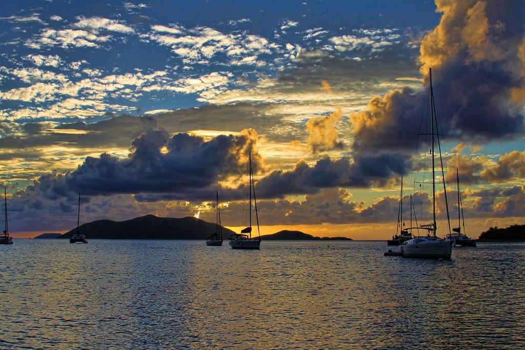 Sunset Tortola