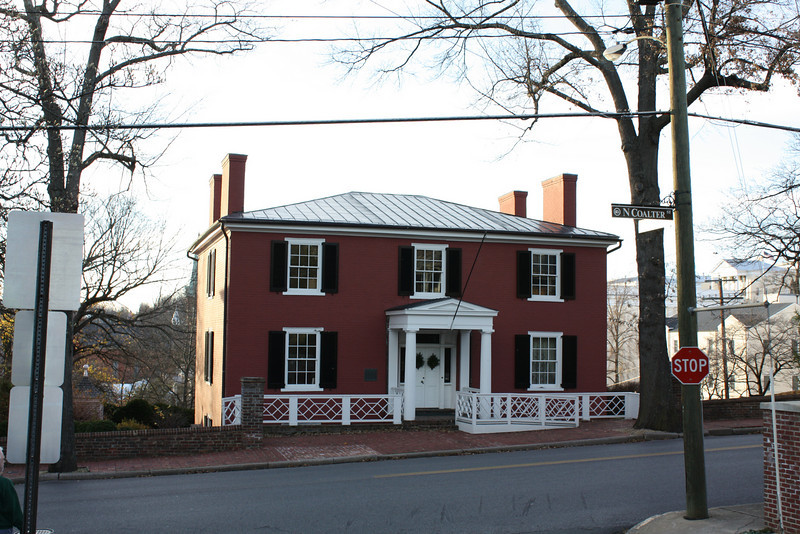 historic home near Mary Baldwin College