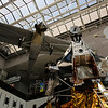 Spirit of St. Louis and Lunar Module LM-2