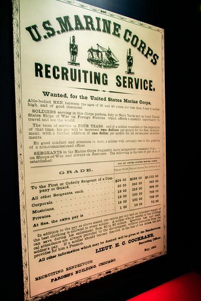 Marine Recruting Poster