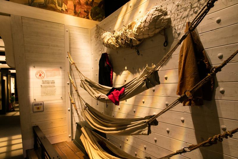 Ship Bunking in the Civil War