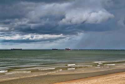 Chesapeake Bay Storm Clouds