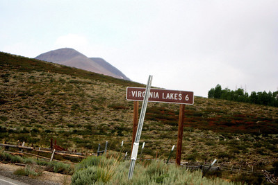 7/10/07 Entering Virginia Lakes Rd. from Hwy 395, Toiyabe National Forest, Eastern Sierras, Mono County, CA