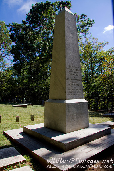 Thomas Jefferson's Grave.