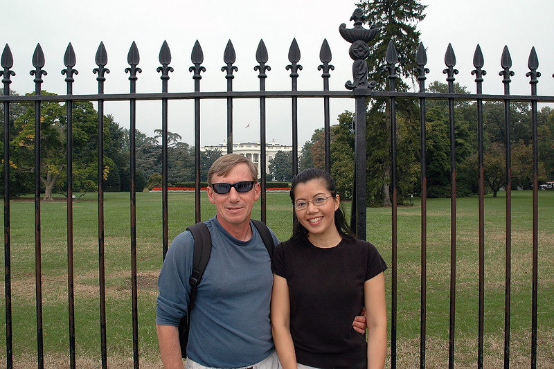 At the White House.