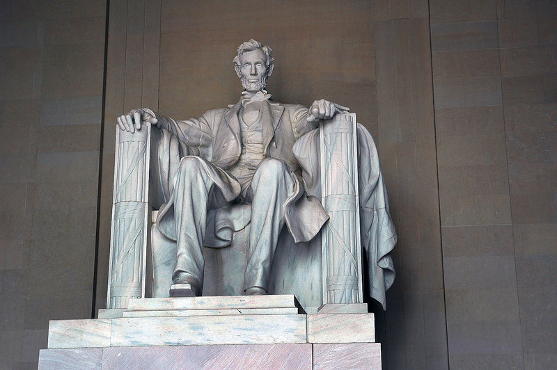 Abe was there.
